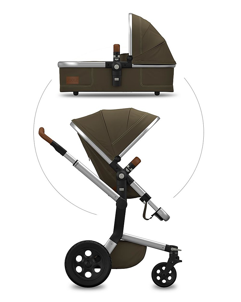 Wonderbaarlijk Joolz Joolz Day Earth, Turtle Green - Travel System Pram + LJ-53