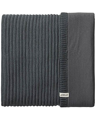 Joolz Ribbed Sleeping Bag, Anthracite, 100% Organic Cotton - 0/6 months Light Sleeping Bags