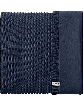 Joolz Ribbed Sleeping Bag, Blue, 100% Organic Cotton - 0/6 months Warm Sleeping Bags