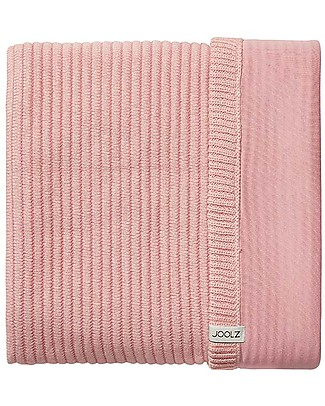 Joolz Ribbed Sleeping Bag,Pink, 100% Organic Cotton - 0/6 months Warm Sleeping Bags
