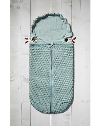 Joolz Sleeping Bag, Mint, 100% Organic Cotton - 0/6 months Light Sleeping Bags