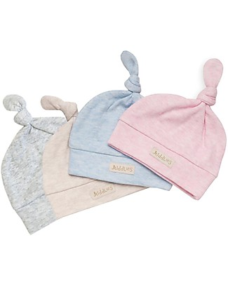 Juddlies Designs Baby Hat Breathe-Eze 0-4 Months, Grey - 100% cotton, breathing and warm! Hats