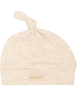 Juddlies Designs Baby Hat Breathe-Eze 0-4 Months, Oatmeal - 100% cotton, breathing and warm! Hats