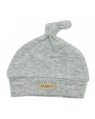 Juddlies Designs Baby Hat Breathe-Eze 4-12 months, Grey - 100% cotton, breathable and warm! Winter Hats