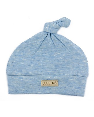 Juddlies Designs Baby Hat Breathe-Eze 4-12 months, Pale Blue - 100% cotton, breathable and warm! Winter Hats