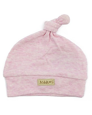 Juddlies Designs Baby Hat Breathe-Eze 4-12 months, Pink - 100% cotton, breathable and warm! Winter Hats