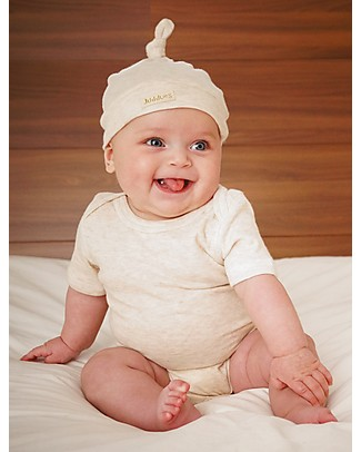 Juddlies Designs Baby Hat Breathe-Eze, Oatmeal - 100% cotton, breathable and warm! Hats