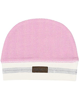 Juddlies Designs Baby Hat Cottage Collection, Pink - 100% Organic Cotton Hats