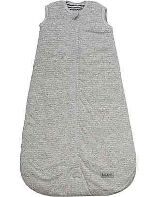 Juddlies Designs Sleeping Bag City Collection, 2.5 Tog, Melange Grey - 100% cotton Warm Sleeping Bags