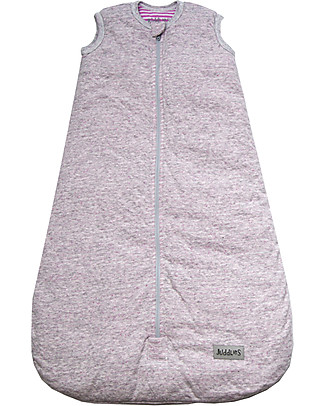 Juddlies Designs Sleeping Bag City Collection, 2.5 Tog, Melange Pink - 100% cotton Warm Sleeping Bags