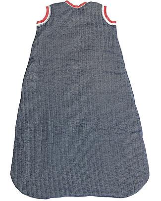 Juddlies Designs Sleeping Bag Cottage Collection, 2.5 Tog, Lake Blue - 100% Organic Cotton Warm Sleeping Bags