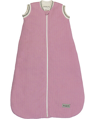 Juddlies Designs Sleeping Bag Cottage Collection, 2.5 Tog, Sunset Pink - 100% cotton Warm Sleeping Bags