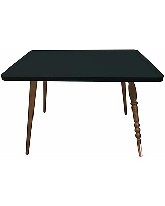 Jungle by Jungle Rectangle Coffee Table My Lovely Ballerine - Black - Walnut and Copper - Height 47 cm  Tables And Chairs