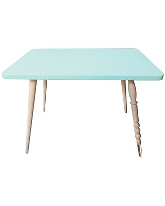 Jungle by Jungle Rectangle Coffee Table My Lovely Ballerine - Mint - Beech and Copper - Height 47 cm  Tables And Chairs