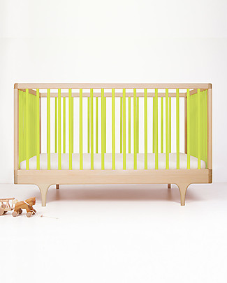 Kalon Studios Caravan Crib  Lime Green - Converts to Junior Bed 0-6 Years Cots & Cotbeds