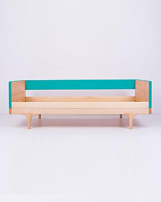 Kalon Studios Caravan Divan Junior Bed - Blue Single Bed
