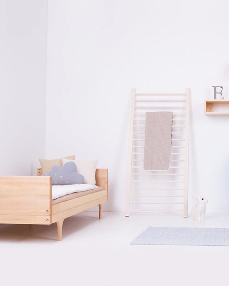 Kalon Studios Caravan Divan Junior Bed - Natural Oiled Maple Wood ...