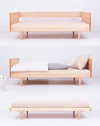 Kalon Studios Caravan Divan Junior Bed - Pink Single Bed
