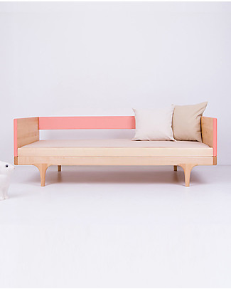 Kalon Studios Caravan Divan Junior Bed - Pink Single Bed