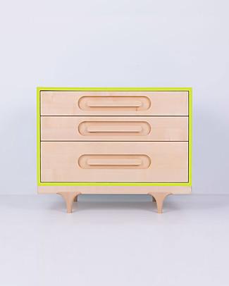 Kalon Studios Caravan Dresser - Lime Green Dressers