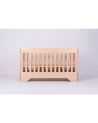Kalon Studios Echo Conversion Kit - Natural Oiled Maple Wood Cribs & Moses Baskets