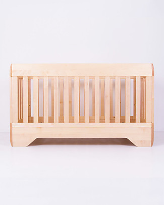 Kalon Studios Echo Crib Natural Oiled Maple Wood - Converts to Junior Bed 0-6 Years Dressers