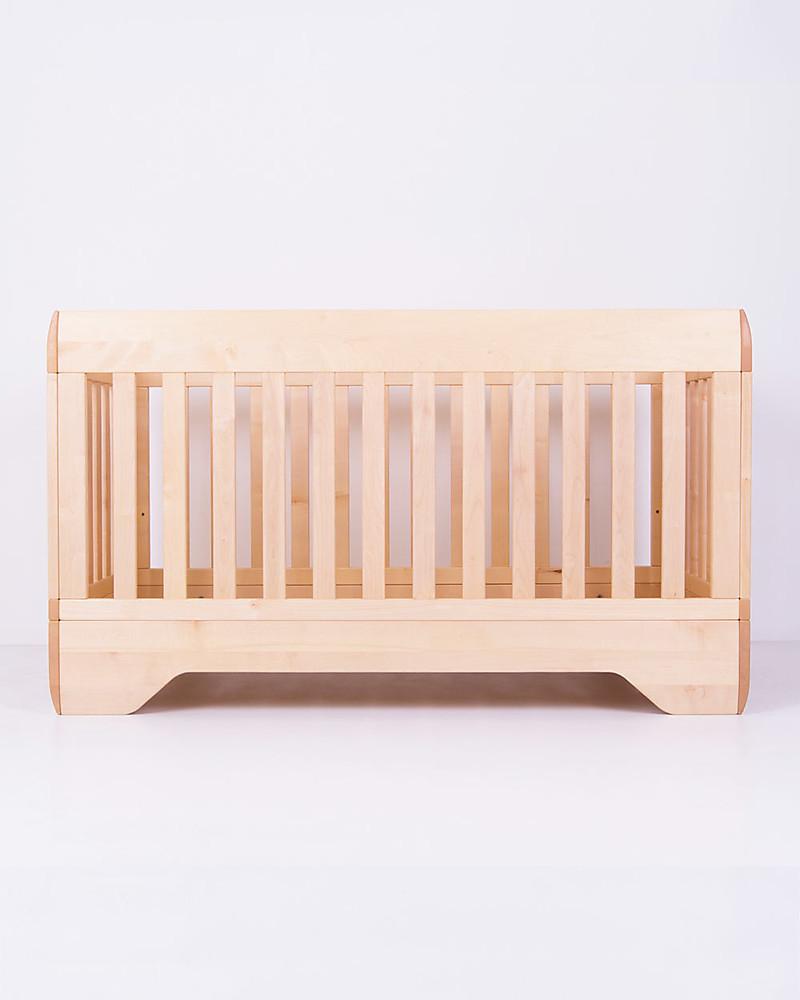 Echo Crib Natural Oiled Maple Wood