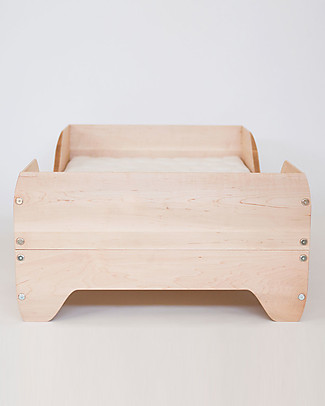 Kalon Studios Echo Toddler Bed Natural Oiled Maple Wood Montessori Beds
