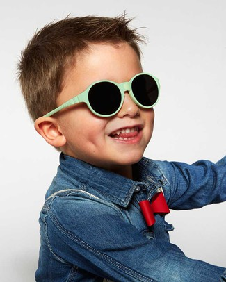 Ki et La Children's Sunglasses Jokakid's 4-6 Years - Menthol Sunglasses