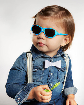 Ki et La Children's Sunglasses Jokala 2-4 Years - Peacock Blue Sunglasses