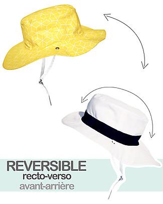 Ki et La Reversible Hat - Anti-UV, Cubik Sun Hats