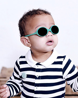 Ki et La Sunglasses Diabola 0-18 Months - Emerald Green  Sunglasses