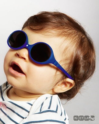 Ki et La Sunglasses Diabola 0-18 Months - Royal Blue Sunglasses