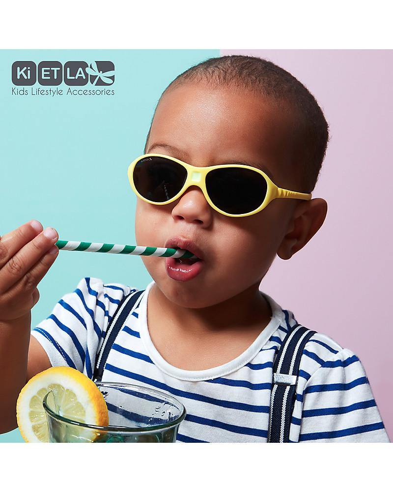 6fbe609427af Ki et La Toddler Sunglasses Jokaki 12-30 Months - Yelow Sunglasses