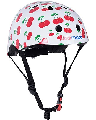 Kiddimoto Kids Bike Helmet, Cherry Bycicles