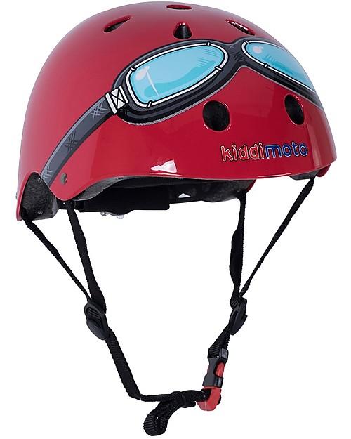 b1ac9151d Kiddimoto Kids Bike Helmet with Goggles