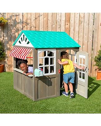 KidKraft Coastal Cottage Playhouse - Wood Playhouses