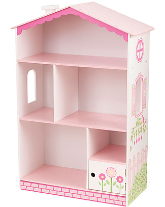 KidKraft Dollhouse Cottage Bookcase - Wood Bookcases