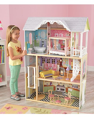 KidKraft Kaylee Dollhouse with Elevator - Wood Dolls Houses