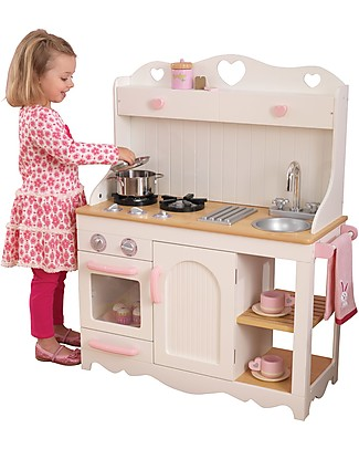 KidKraft Prairie Play Kitchen, with Lovely Details - Wood Creative Toys