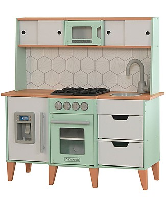KidKraft Retro Modern Play Kitchen - Wood Creative Toys