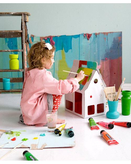 Своими руками картонный домик для детей 3