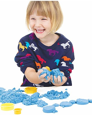 Kinetic Sand Kinetic Sand 2,27 kg, Blue - Soothing, tidy and anti-allergic! Creative Toys