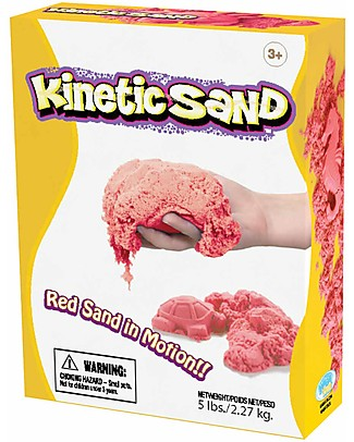 Kinetic Sand Kinetic Sand 2,27 kg, Red - Soothing, tidy and anti-allergic! Creative Toys