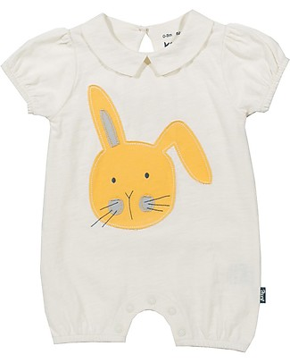 Kite Bunny Romper, Cream - 100% organic cotton Rompers