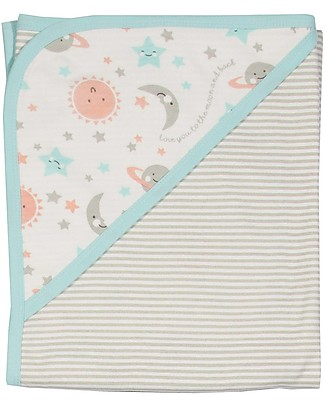 Kite Love you Blanket - Double Face, 100% organic cotton Blankets