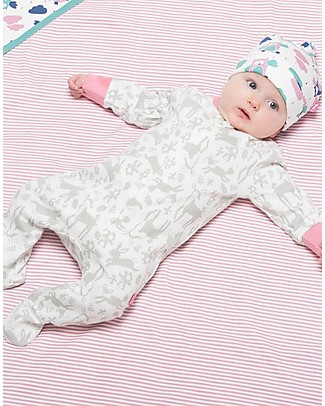 Kite Toadstool Zippy LongSleeved Sleepsuit - 100% organic cotton null