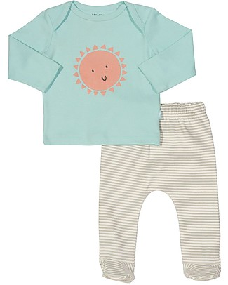 Kite Two-Piece Sunshine Set, Top + Pants - 100% organic cotton Gift Set