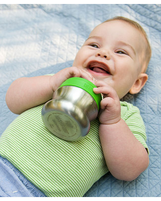 Klean Kanteen Kids Stainless Steel Baby Bottle 148 ml Safe, Robust, Slow Flow (0-6 months) null