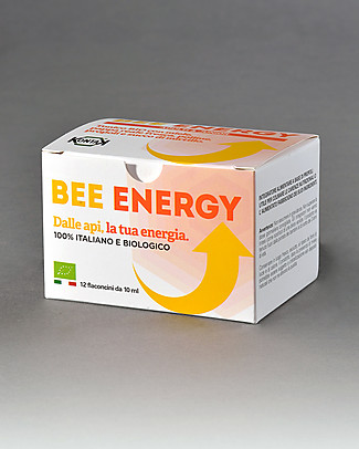 Kontak Bee Energy Adults & Junior, 12 vials - Dietary supplement with honey, royal jelly, pollen, propolis and cranberry juice Natural Remedies
